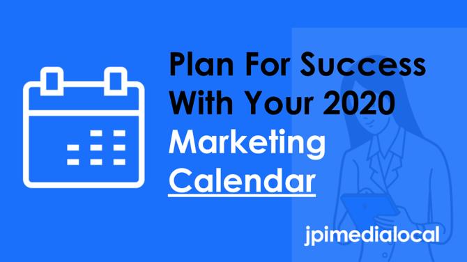 2020 Marketing Calendar