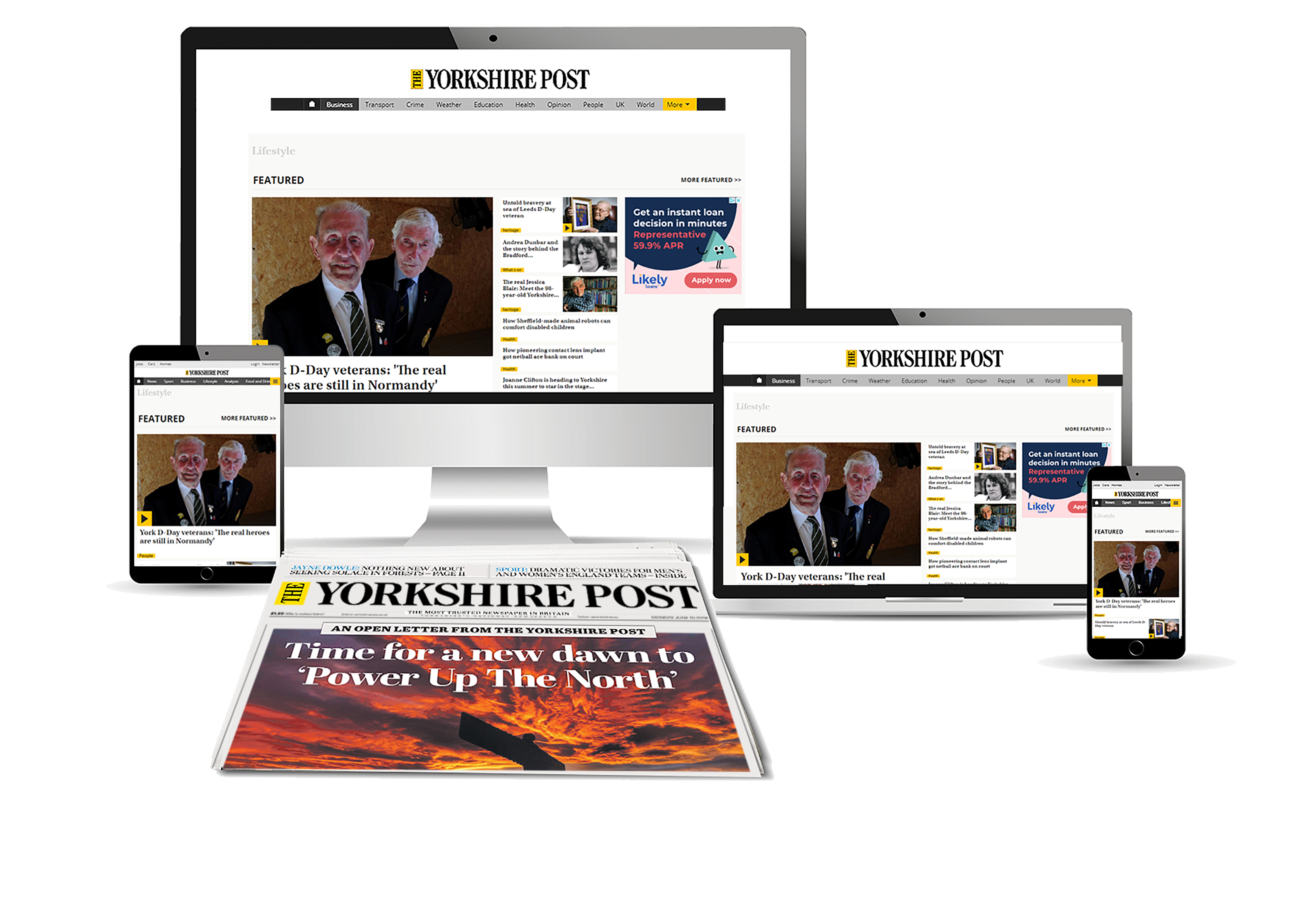 Advertise in Yorkshire online and in print